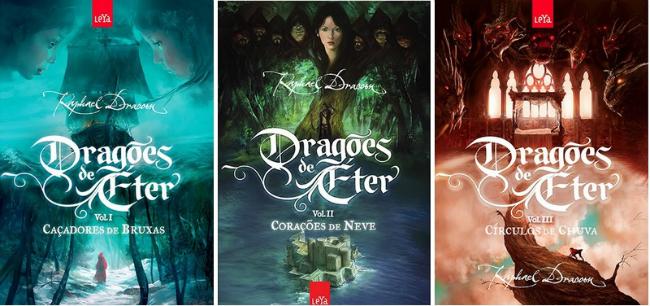 Marc Simonetti Dragões de Éter capa Raphael Draccon