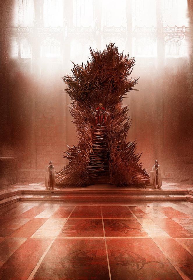 Marc Simonetti iron throne trono de ferro